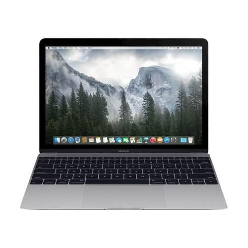 "Apple - Macbook® 12"" Refurbished Laptop - Intel Core M - 8GB Memory - 256GB Solid State Drive - Space Gray"