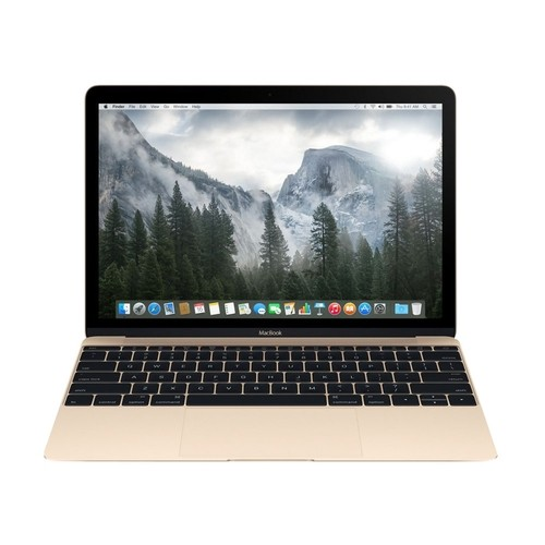 "Apple - MacBook 12"" Refurbished Laptop - Intel Core m - 8GB Memory - 512GB Flash Storage - Gold"