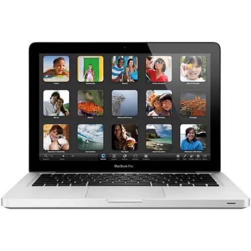 "Apple - MacBook Pro 13.3"" Refurbished Laptop - Intel Core i5 - 4GB Memory - 320GB Hard Drive - Silver"