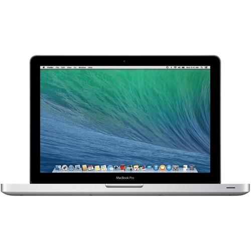 "Apple - MacBook Pro 13.3"" Refurbished Laptop - Intel Core i5 - 8GB Memory - 500GB Hard Drive - Silver"