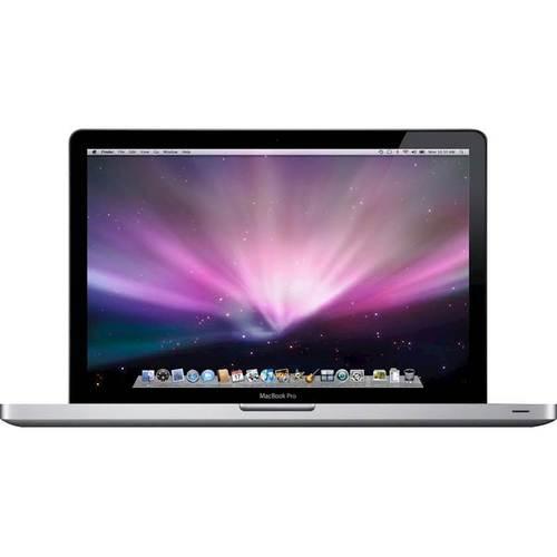"Apple - MacBook Pro 15.4"" Refurbished Laptop - Intel Core2 Duo - 2GB Memory - 250GB Hard Drive - Silver"