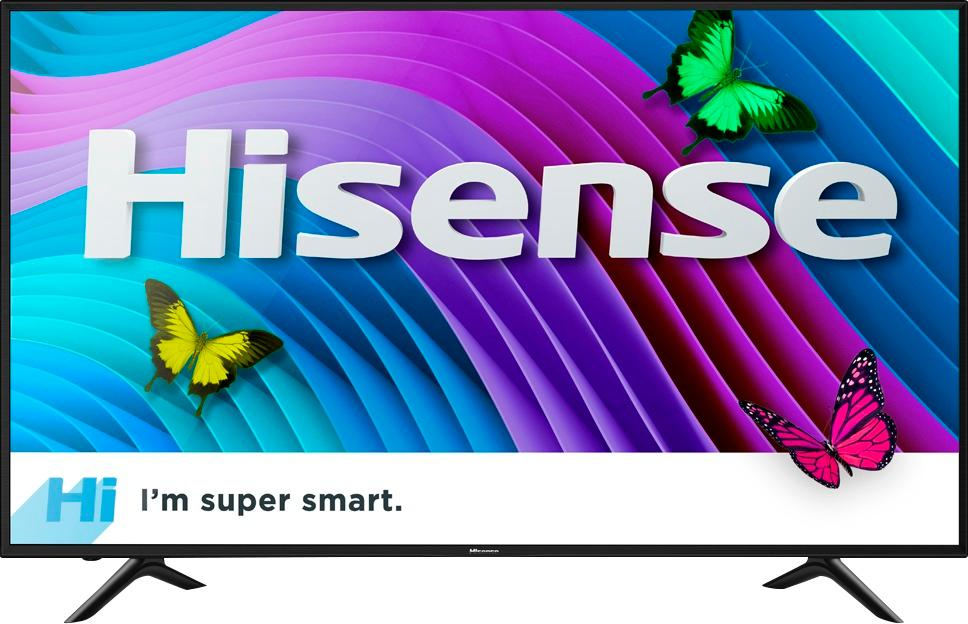 "Hisense - 50"" Class (49.5"" Diag.) - LED - 2160p - Smart - 4K Ultra HD TV"