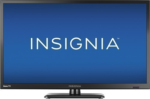 """Insignia™ - 24"""" Class (23.6"""" Diag.) - LED - 720p - Smart - HDTV Roku TV"""