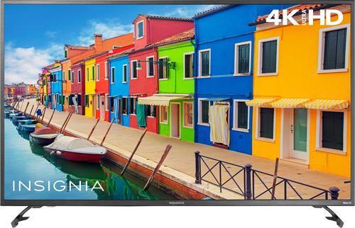 "Insignia™ - 55"" Class (54.5"" Diag.) - LED - 2160p - Smart - 4K Ultra HD TV Roku TV"