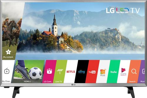 """LG - 32"""" Class (31.5"""" Diag.) - LED - 720p - Smart - HDTV"""