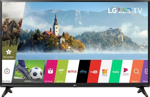 """LG - 43"""" Class (42.5"""" Diag.) - LED - 1080p - Smart - HDTV"""