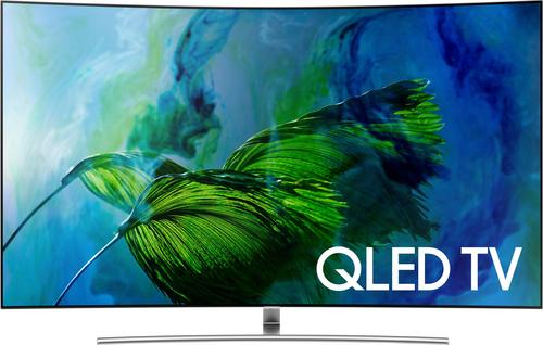 "Samsung - 75"" Class (74.5"" Diag.) - LED - Curved - 2160p - Smart - 4K Ultra HD TV with High Dynamic Range"
