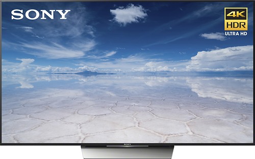 "Sony - 85"" Class (84.5"" diag) - LED - 2160p - Smart - 4K Ultra HDTV with High Dynamic Range"