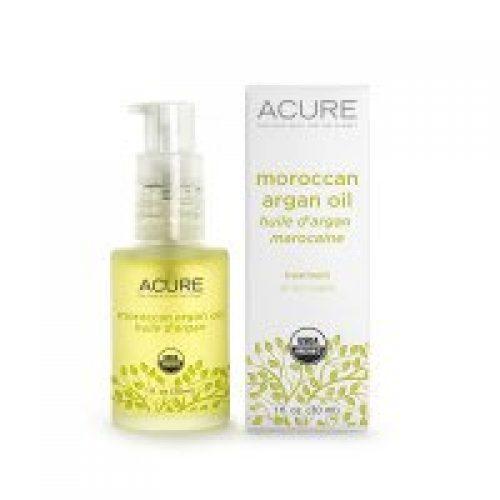 Acure Organics, 100% 인증된 오가닉 모로칸, 아르간 오일 트리트먼트, 모든 피부타입 용, 1 oz (30 ml)