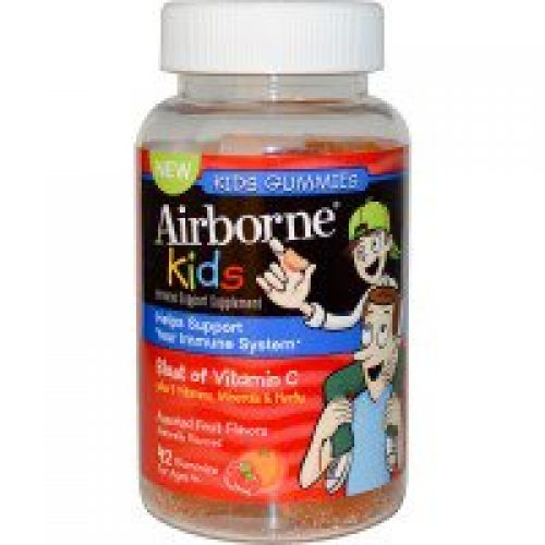 AirBorne, Kids Gummies, Assorted Fruit Flavors, 42 Gummies