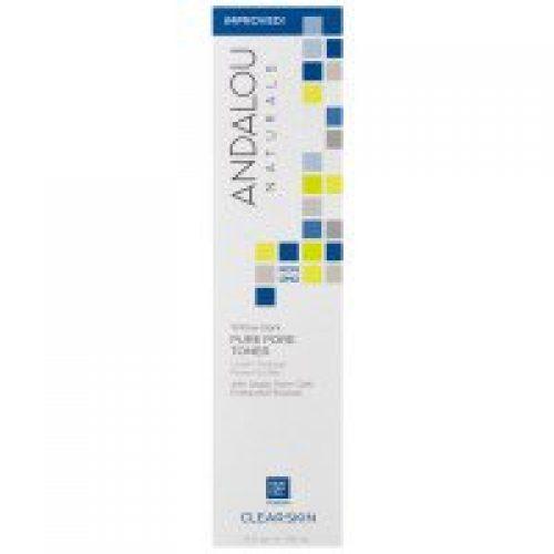 Andalou Naturals, 모공 축소제, 알로에 + 윌로우 바크, 6 액량 온스 (178 ml)