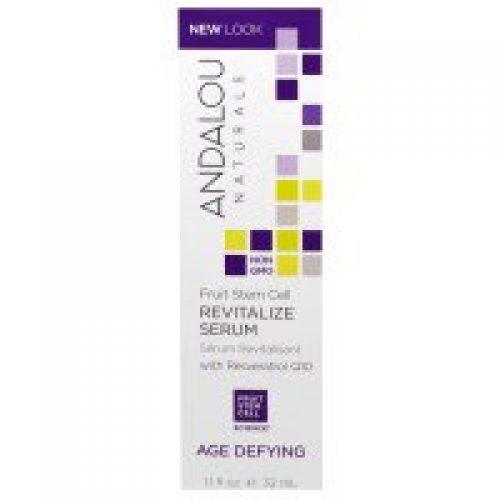 Andalou Naturals, 레스베라트롤 Q10 함유 재생 세럼, 안티 에이징, 1.1 액량 온스 (32ml)