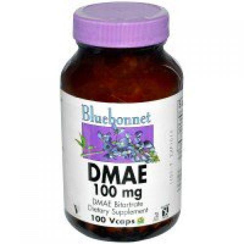 Bluebonnet Nutrition, DMAE, 100mg, 100 베지 캡슐