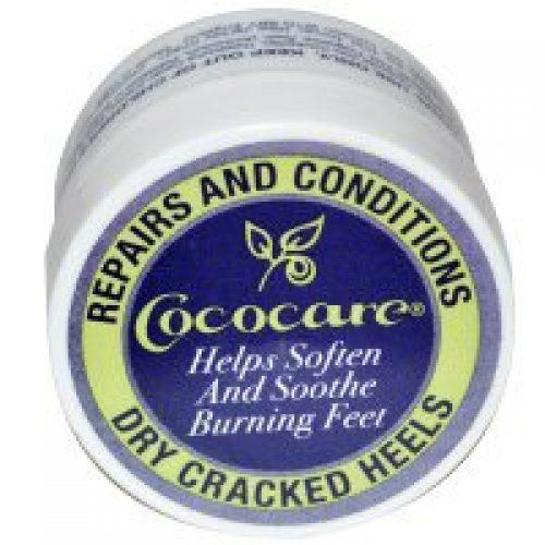 Cococare, 건조하고 갈라진 발꿈치를 치료하고 관리합니다, .5 oz (11 g)