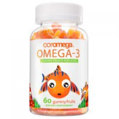 Coromega, 오메가-3, 어린이용 거미 과일, 60 개입