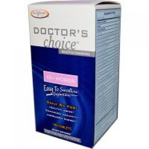 Enzymatic Therapy, 닥터스 쵸이스 종합 비타민, 45+ 여성, 180정제