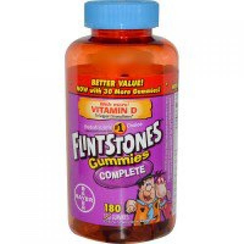 Flintstones, 구미 복합제, 어린이용 복합비타민 보충제, 구미 180개입