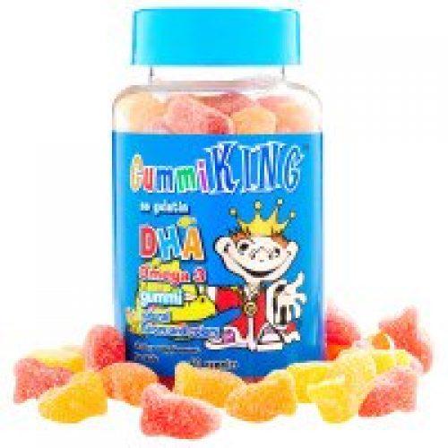 Gummi King, 어린이용 DHA 오메가-3 구미, 60 구미