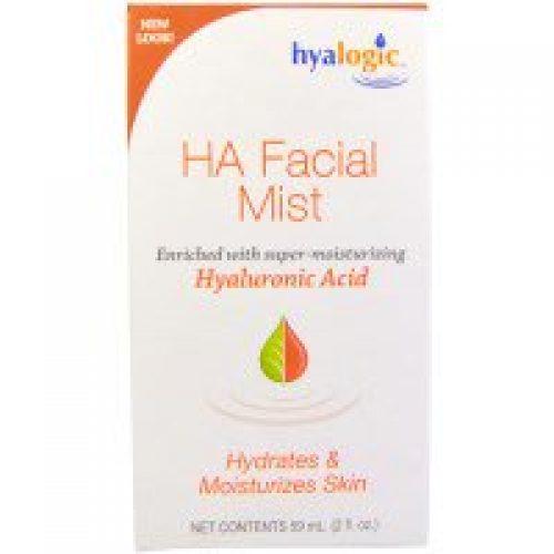 Hyalogic LLC, HA 히알루로닉산이 함유된 페이셜 미스트, 2 oz (59 ml)