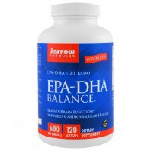 Jarrow Formulas, EPA-DHA 발란스, 120 소프트젤