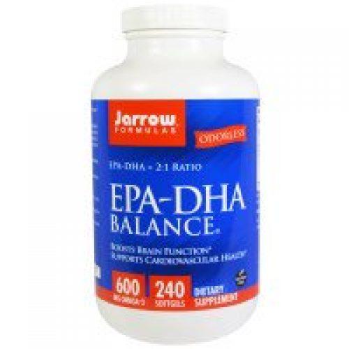 Jarrow Formulas, EPA-DHA 발란스, 240 소프트젤