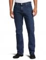 리바이스 남성 청바지 505 Regular Fit Jean, Dark Stonewash, 34×30