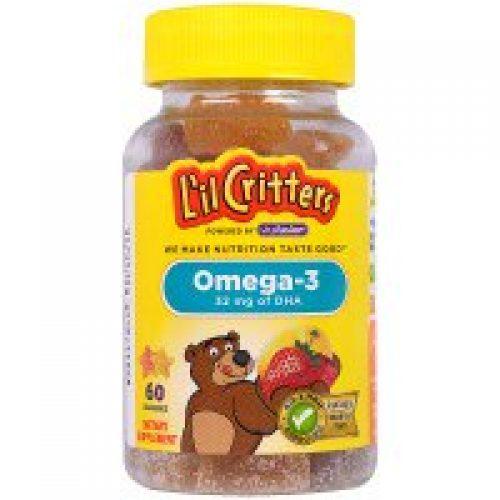 L'il Critters, 오메가-3, 60 구미