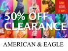 아메리칸 이글 50% 정리세일 시간제한 Clearance Sale