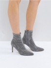 SOCK BOOTS 여성 패션 앵클부츠 힐