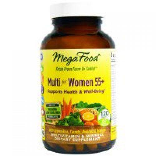 MegaFood, 55세 이상 여성용 멀티비타민, 120정