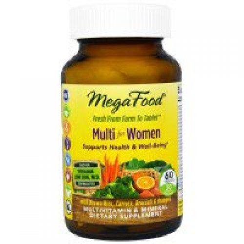 MegaFood, 여성을 위한 멀티비타민, 60정