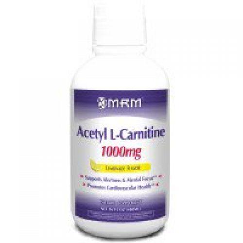 MRM, 아세틸 L-카르니틴, 레모네이드 맛, 1000mg, 16fl oz(480ml)