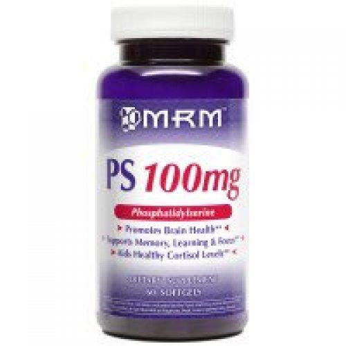 MRM, PS, 포스파티딜세린, 100 밀리그램, 60 소프트겔