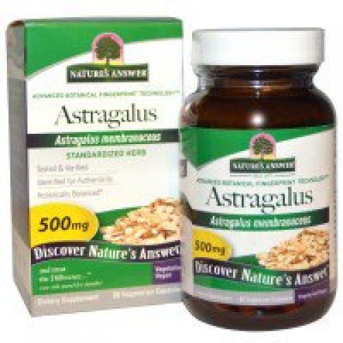 Nature's Answer, 황기, 500 mg, 60 베지캡스