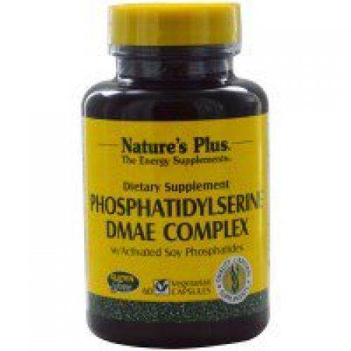 Nature's Plus, 포스파티딜세린 DMAE 컴플렉스, 60 베지캡스