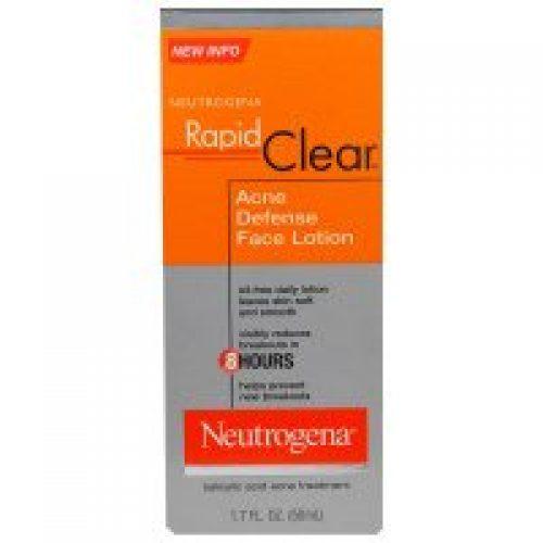 Neutrogena, 래피드 클리어, 여드름 방지 얼굴 로션, 1.7 액량 온스 (50 ml)