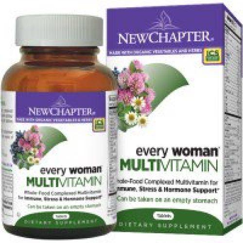 New Chapter, 모든 여성용 종합 비타민, 120 정