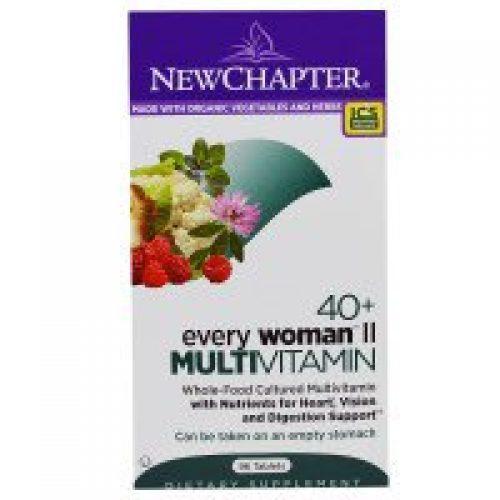 New Chapter, 40+ 에브리우먼II (Every Woman II), 종합비타민, 96 정