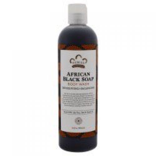 Nubian Heritage, 아프리칸 블랙 비누, 바디 워시, 해독&밸런싱, 13 fl oz (384 ml)