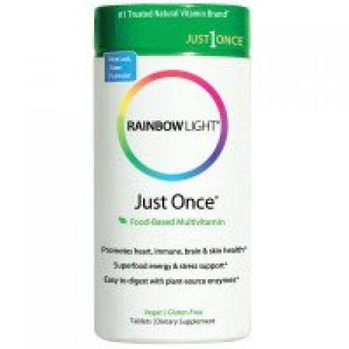 Rainbow Light, 저스트 원스, 푸드-베이스트 멀티비타민, 120 태블릿