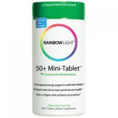 Rainbow Light, 50+ 미니-탭, 에이지-디펜스 포뮬러, 180 태블릿