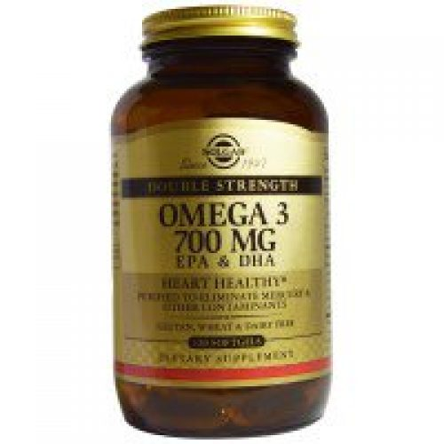 Solgar, 오메가 3, EPA & DHA, 더블 스트렝스, 700 mg, 120 소프트젤
