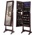 쥬얼리 캐비넷 Jewelry Cabinet Lockable Standing Jewelry Armoire Organizer