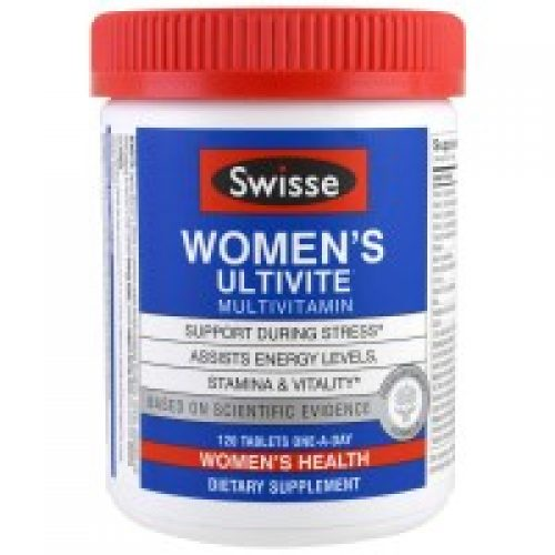 Swisse, Women's Ultivite Multivitamin, 120 정