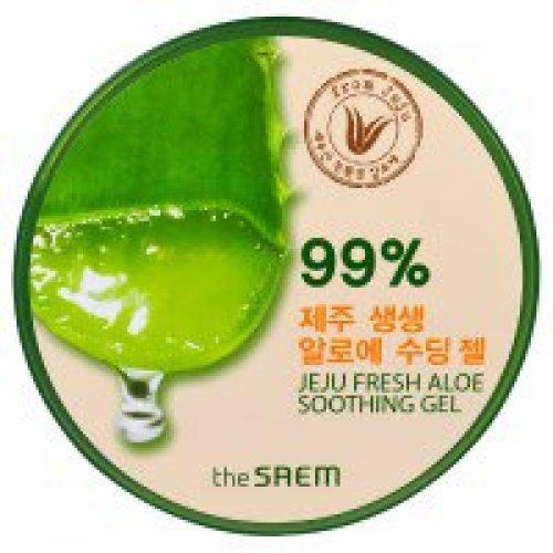 The Saem, 제주 프레쉬 알로에 스무딩 젤, 10.14 fl oz (300 ml)
