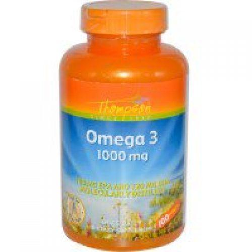 Thompson, 오메가 3, 1000 mg, 100 소프트젤