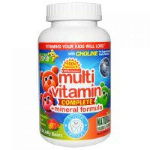 Yum-V's, 멀티 비타민 컴플리트 + 미네랄 포뮬라, 맛있는 과일 향, 120개입
