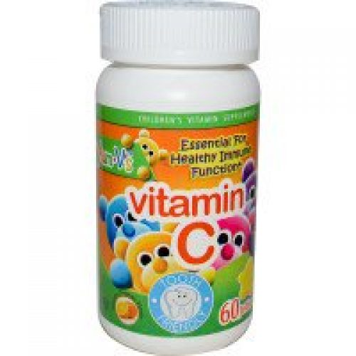 Yum-V's, 비타민 C, 맛있는 오렌지 맛, 젤리 60 개