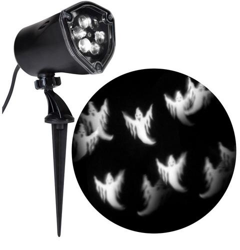 홈디포 할로윈 데코 하얀 고스트 조명  LightShow LED