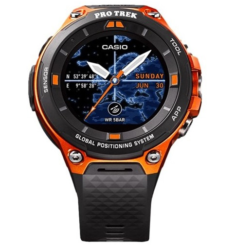 카시오 스마트 레져 시계 Pro Trek WSD-F20